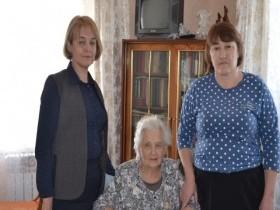 Чествование тружеников тыла  в СП Караидельский сельсовет